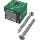 Spax Spax®  T-STAR spaanplaatschroef  RVS A2 platkop PZ2 4,5X45MM