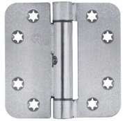 Charmag Glijlagerscharnier Gegalv 89x89x3.0mm Afger. Skg3 Zonder pen gelaste knoop. 180 kg