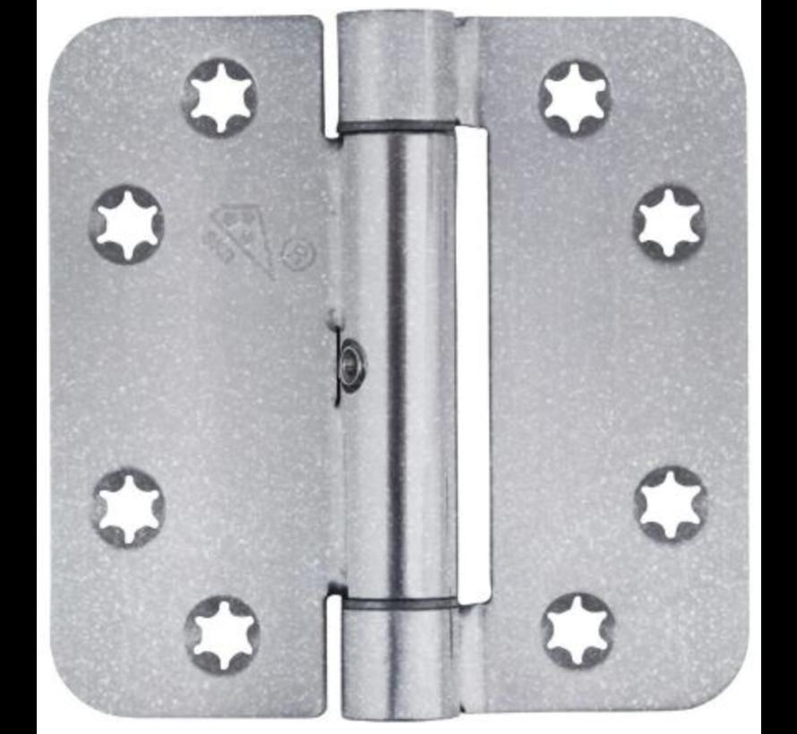 Glijlagerscharnier Gegalv 89x89x3.0mm Afger. Skg3 Zonder pen gelaste knoop. 180 kg