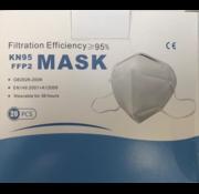 Gecertificeerde kapjes Mondmaskers KN95 FFP2 ECM gecertificeerd 20 stuks