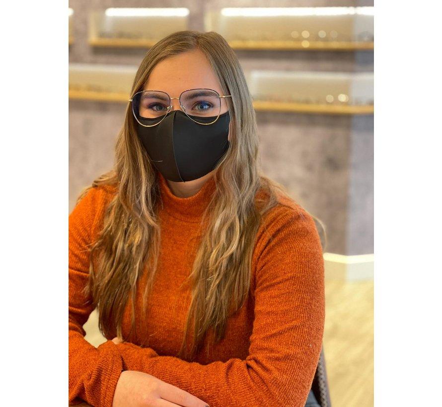Anti Condens Mask | 2 stuks zwart