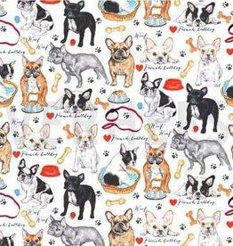 Puppy love canvas