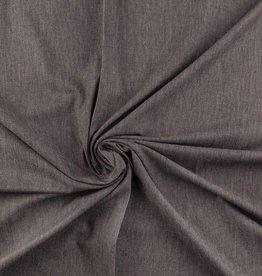 Denim hemdenstof grijs