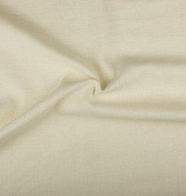 Linen look ecru