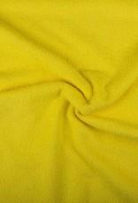 Badstof citroengeel