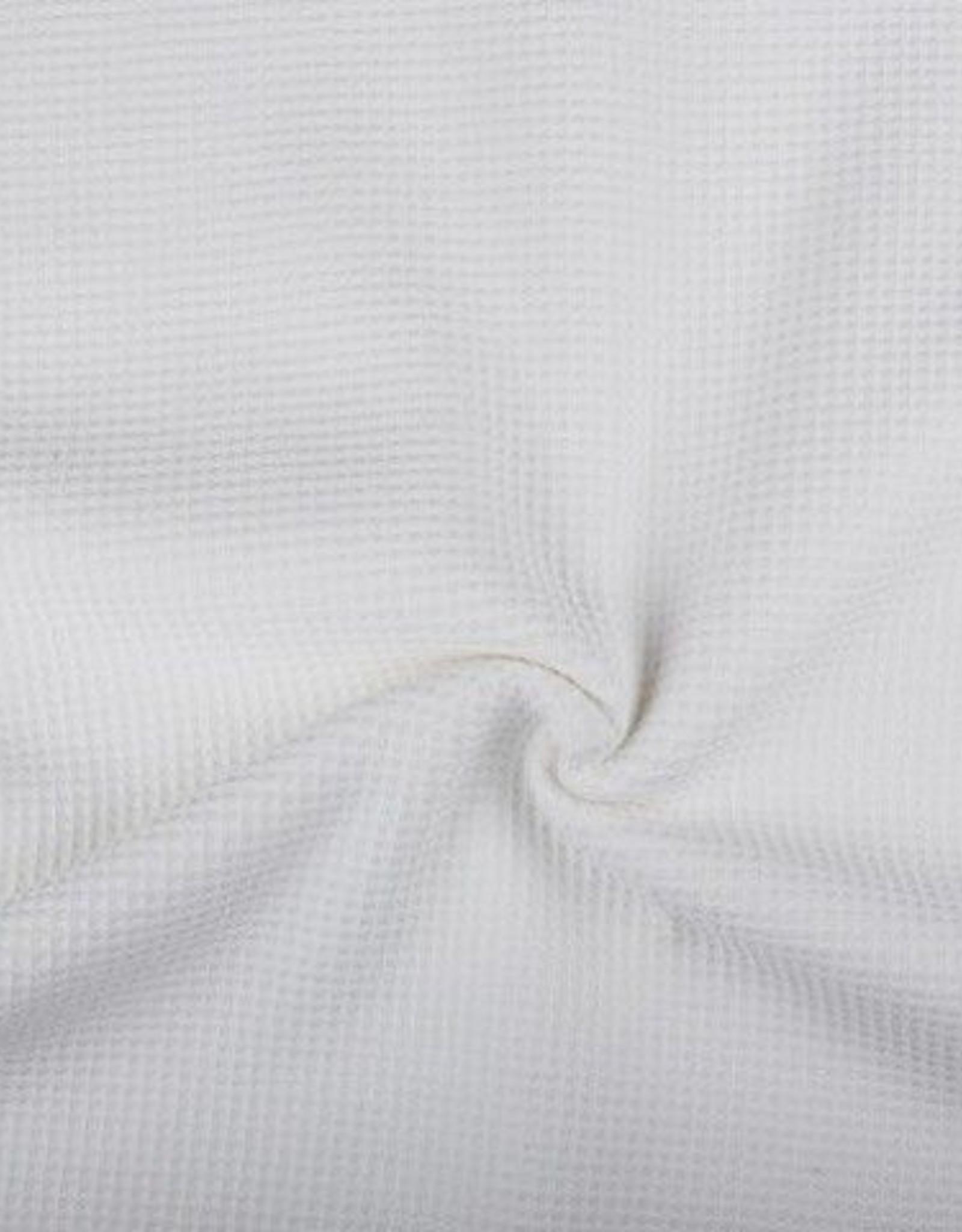 wafelkatoen wit