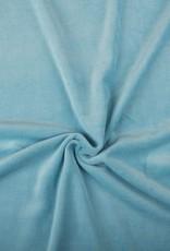Nicky Velours lichtblauw
