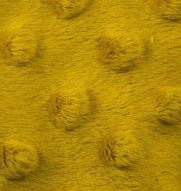 Minky fleece mosterd