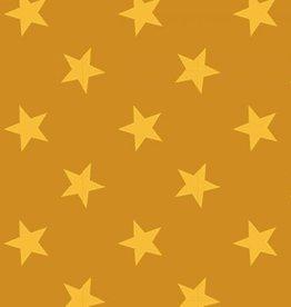 Mosterd met gele sterretjes