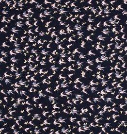 Zwaluwen chiffon