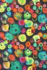 Tricot veelkleurige cirkels