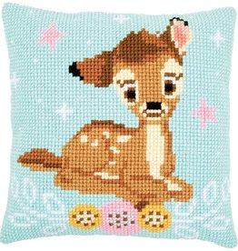 Kruissteekkussen kit Disney Bambi