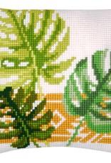 Kruissteekkussen kit Botanical