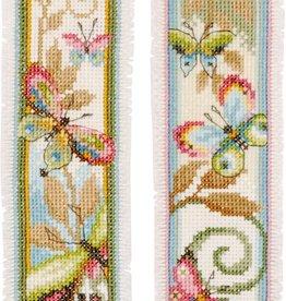 TP bladwijzer Decoratieve vlinder aida set v 2