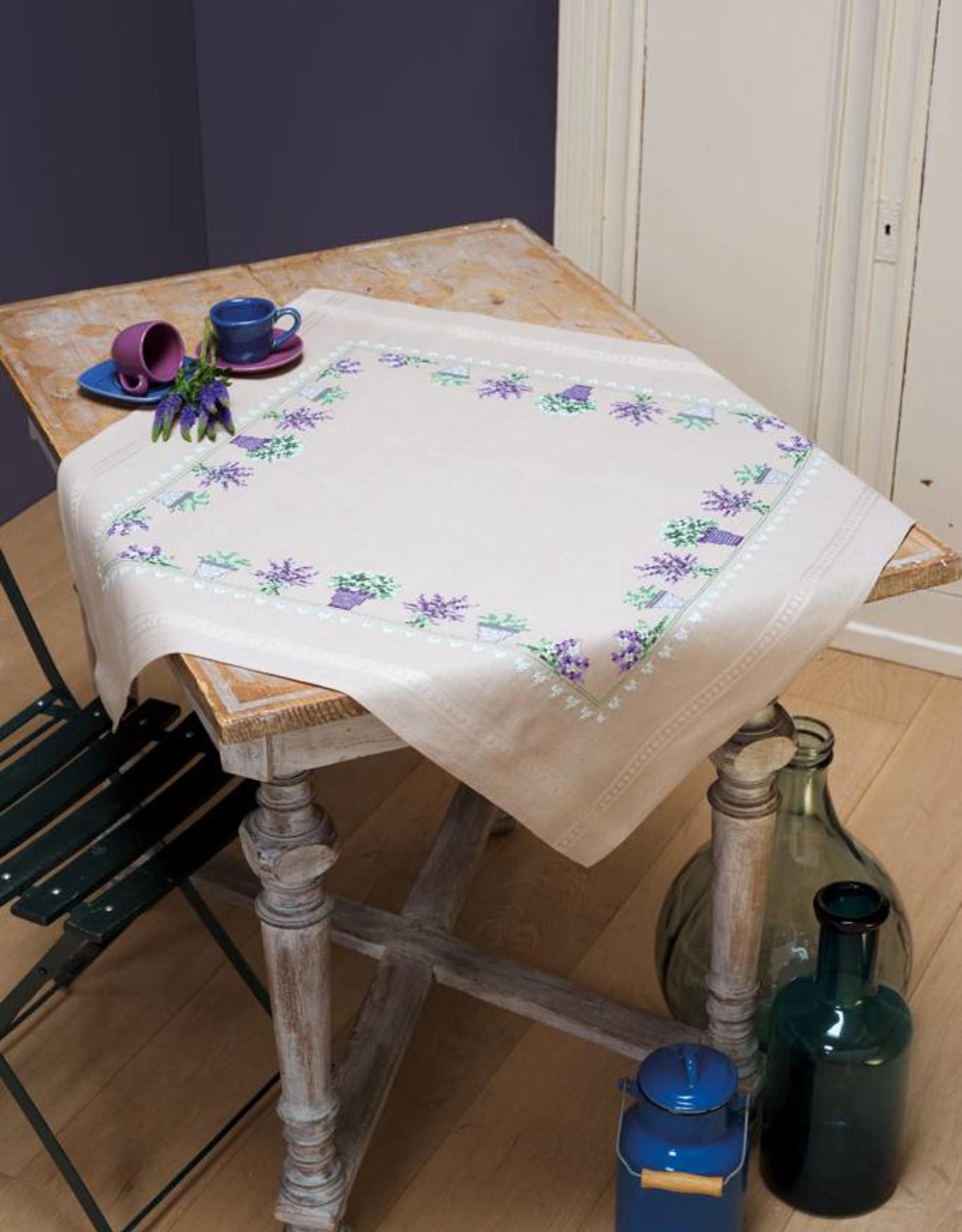 Tafelkleed kit Lavendel