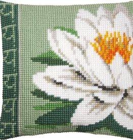 X-st Pakket kussen Witte lotusbloem