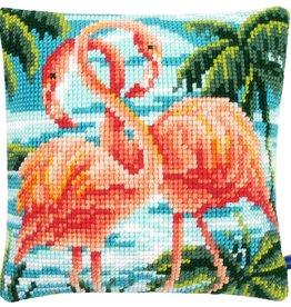 X-st Pakket kussen Flamingo's