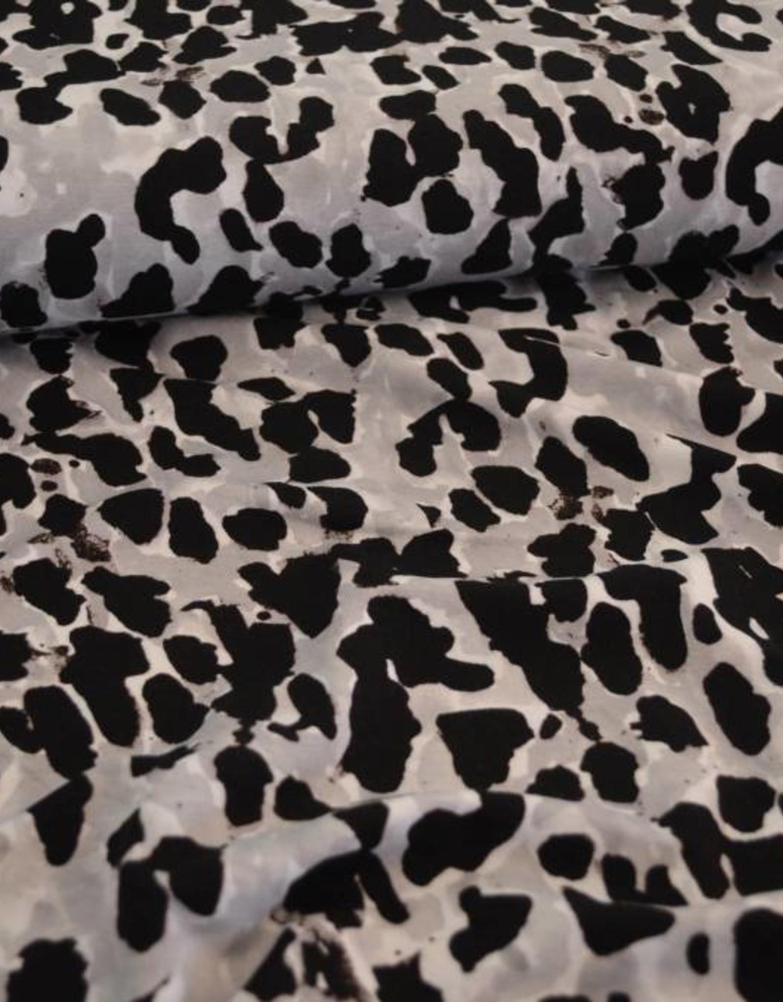 viscose luipaardvlekken
