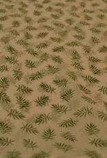 Groene takjes voile