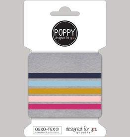 Poppy Poppy cuffs lichtgrijs pastel kleuren