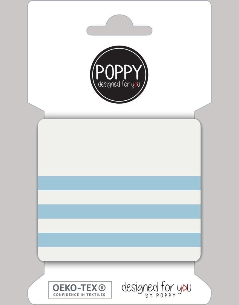ecru lichtblauw cuff designed for you