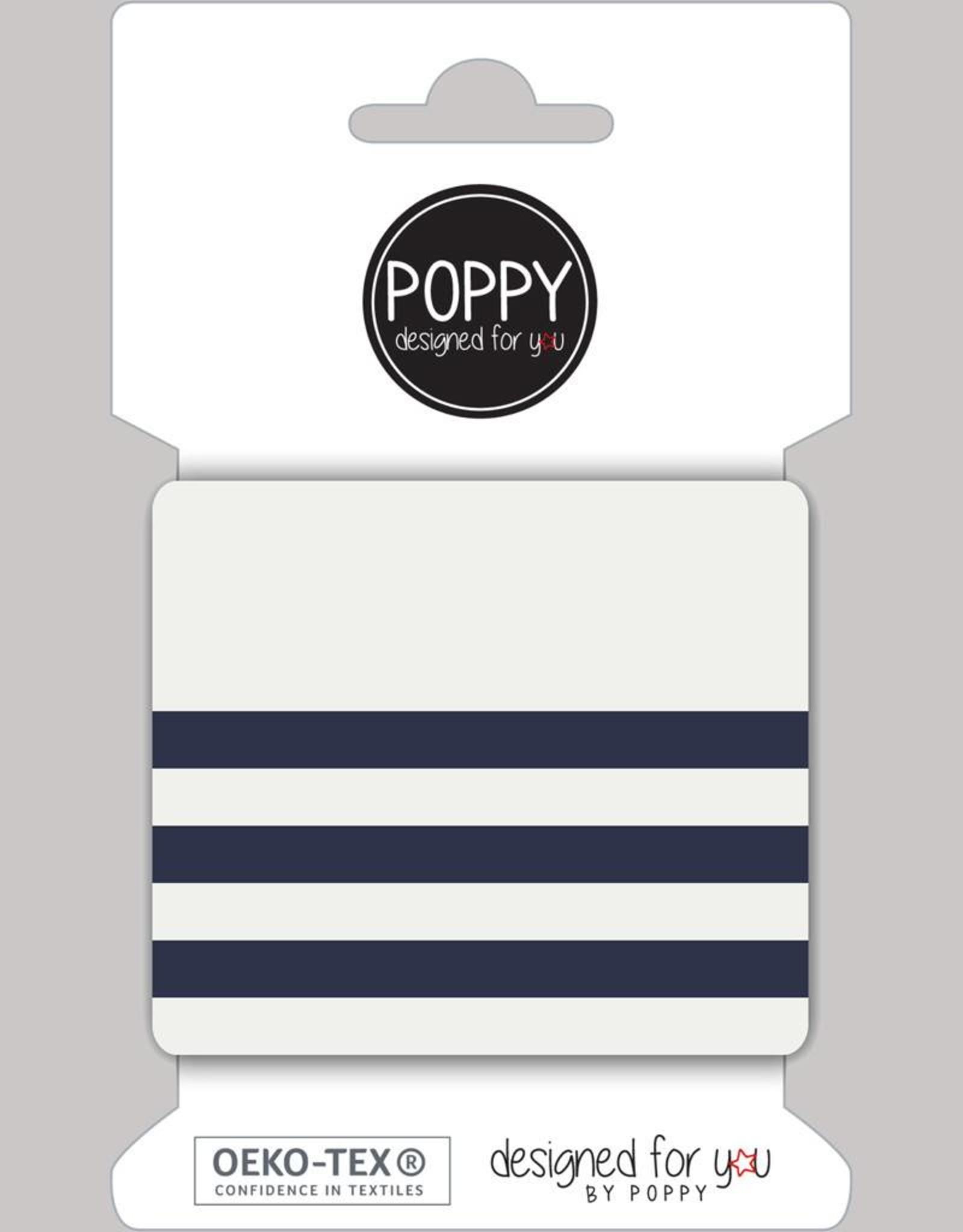 ecru marineblauw cuff designed for you