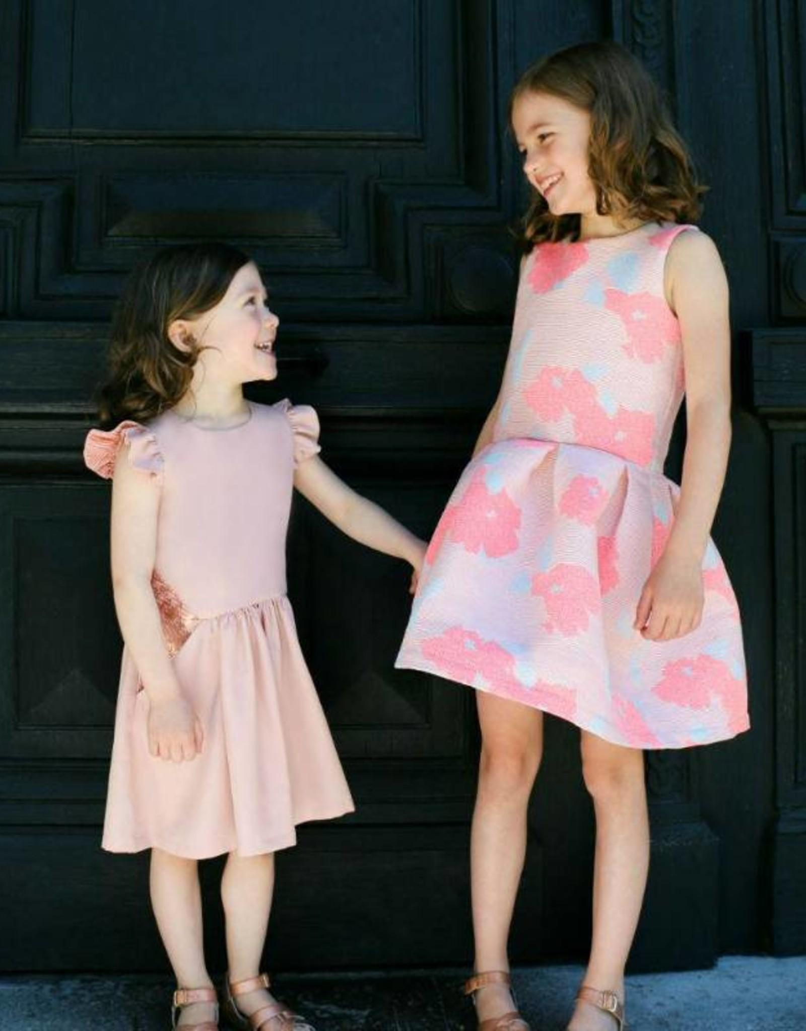 Straightgrain Hanami jurk patroon