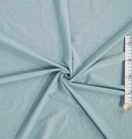 Blauw gebreid met lurex