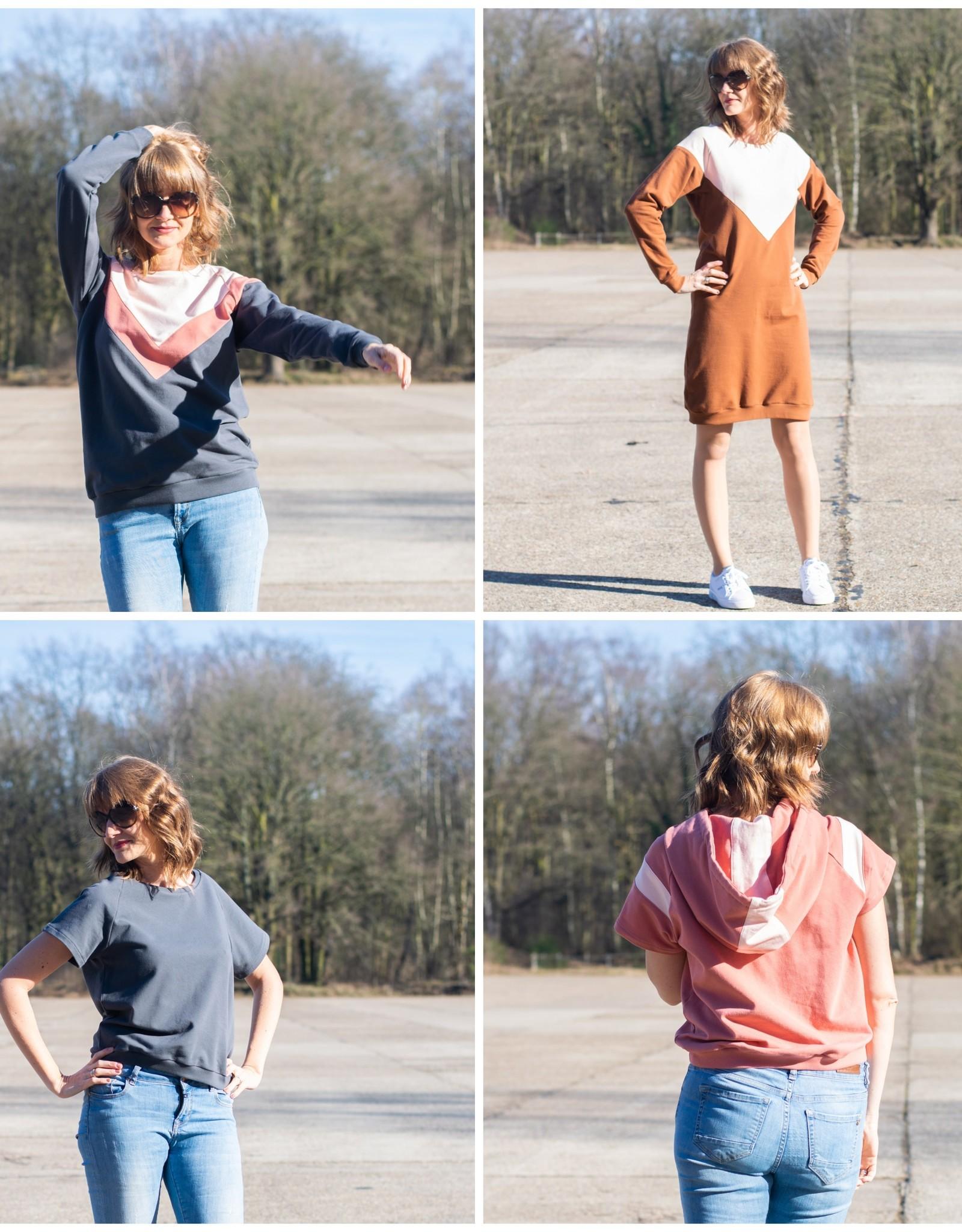 Bel'Etoile Isa sweater jurk en top
