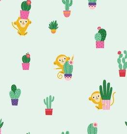 Katia Popeline cactus aapjes