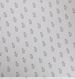 Hydrofiel mousseline met lamas