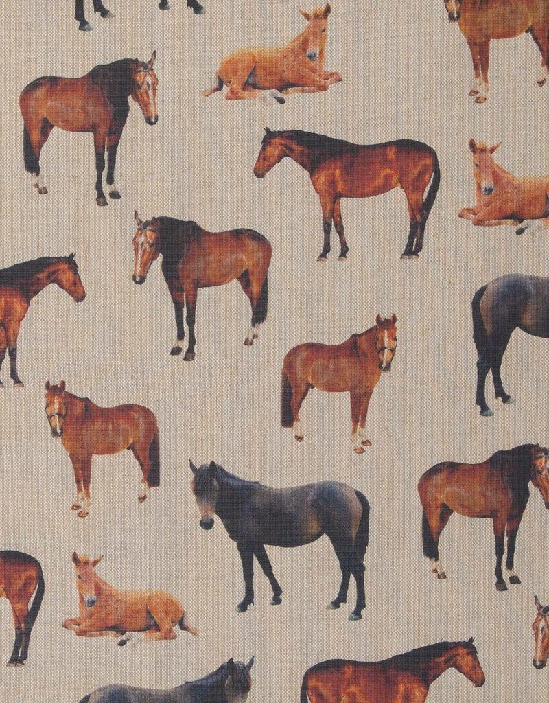 Canvas paarden