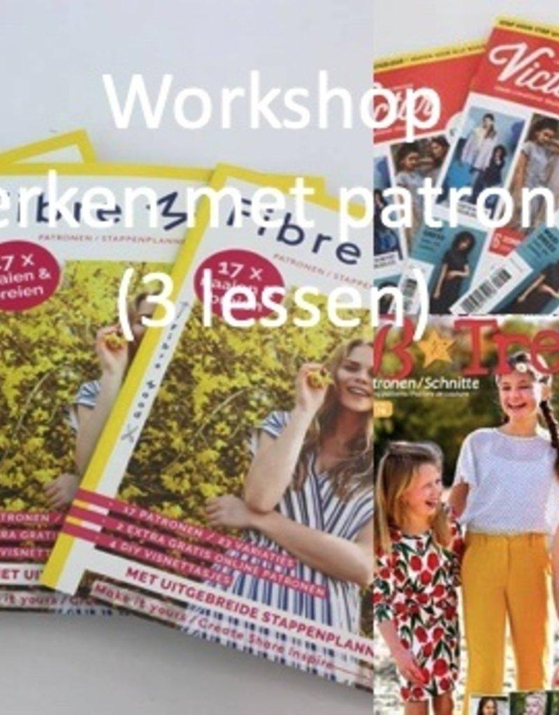 Werken met patronen (3 lessen) vanaf 4 september