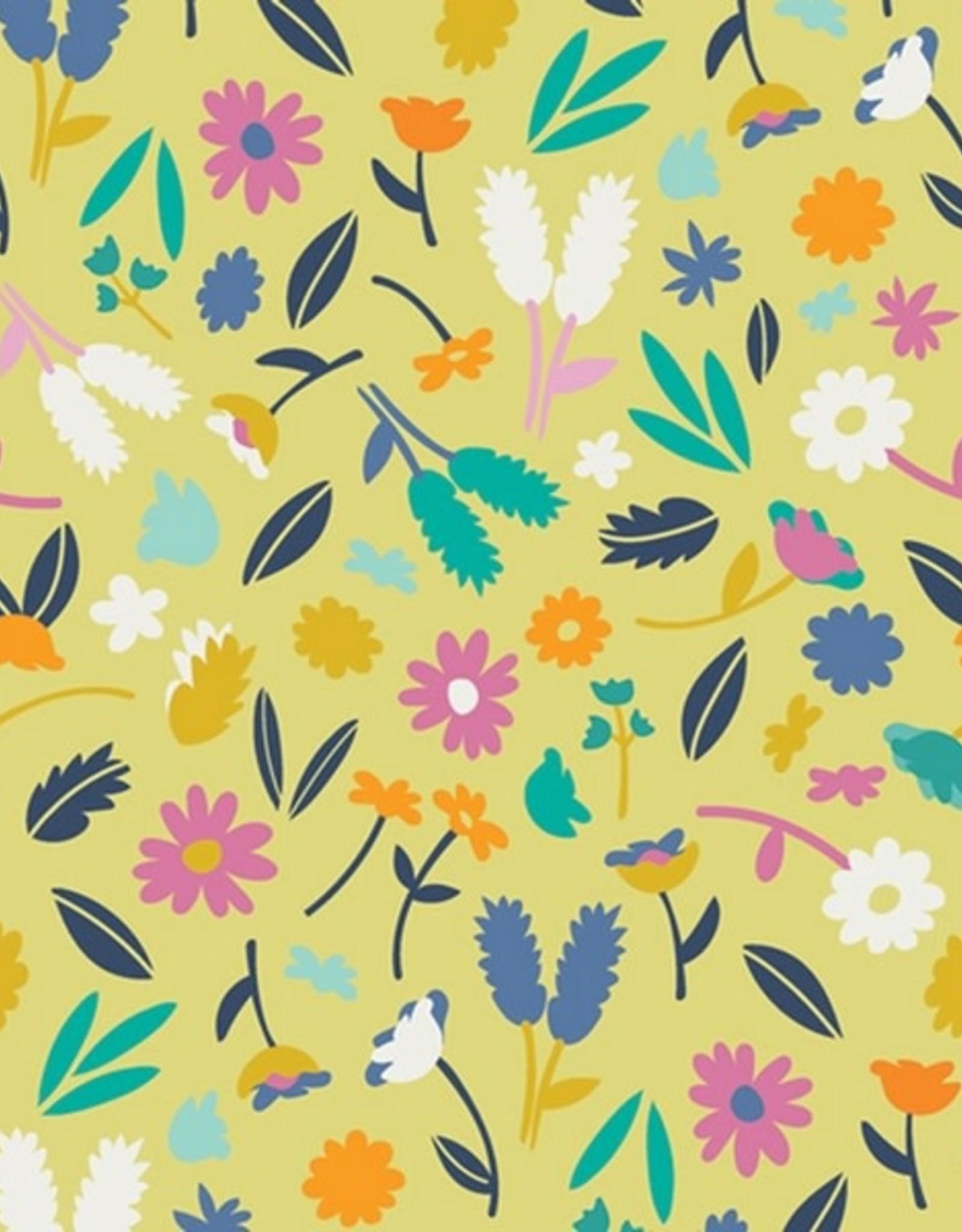 Art Gallery Summer side gele bloemen