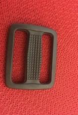 schuifgesp zwart kunststof 25 mm