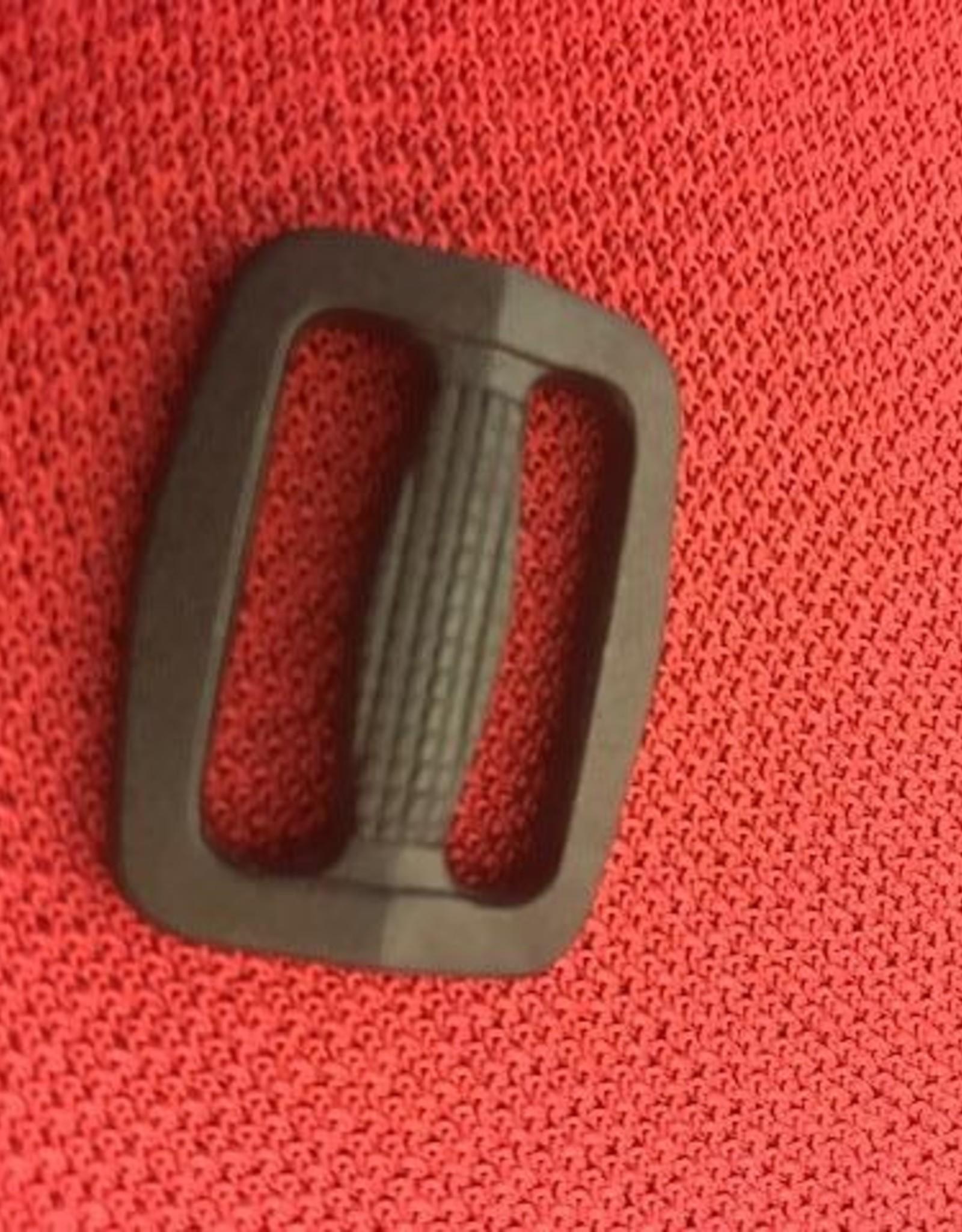 schuifgesp zwart kunststof 30mm