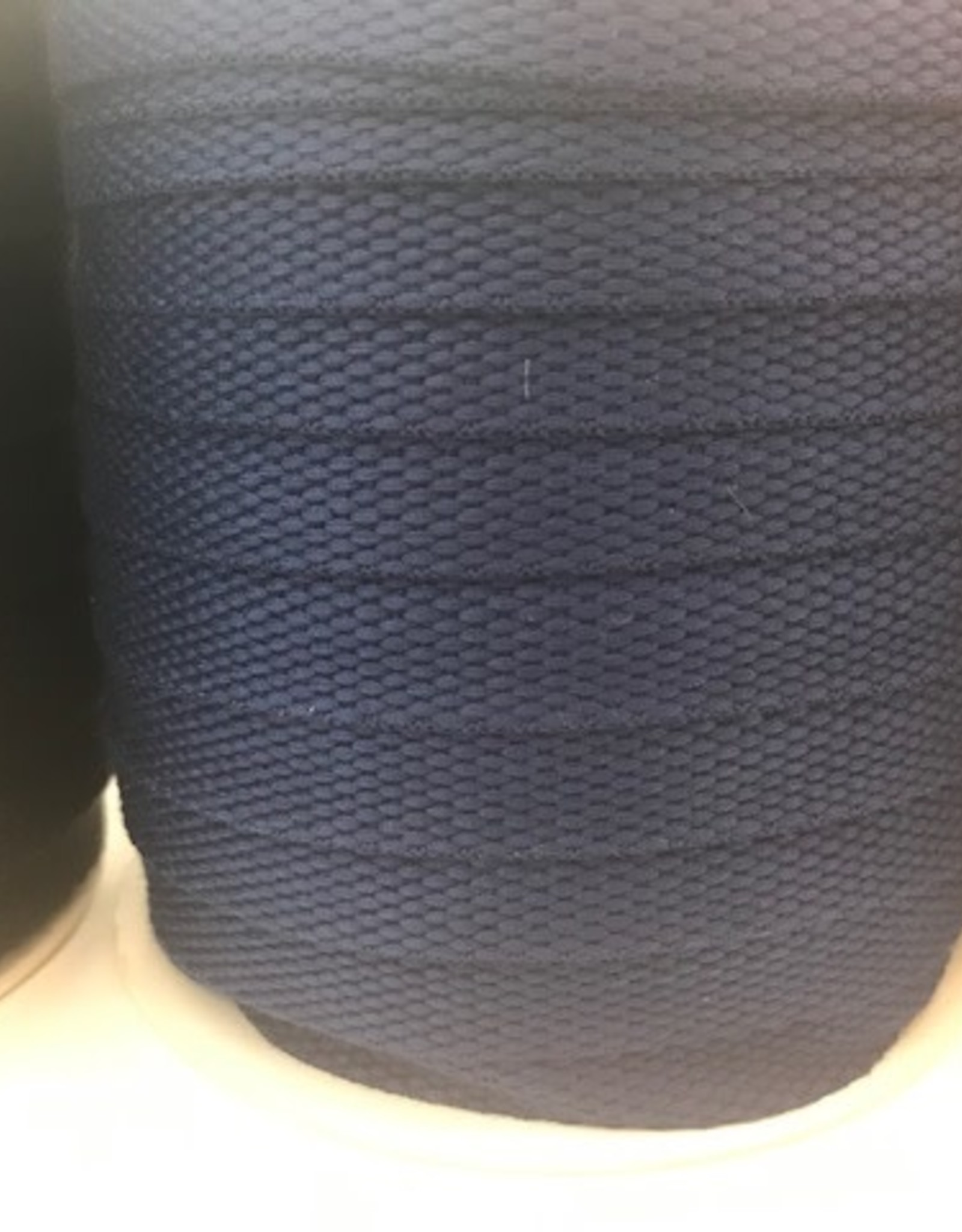 Tassenband 25mm donker blauw