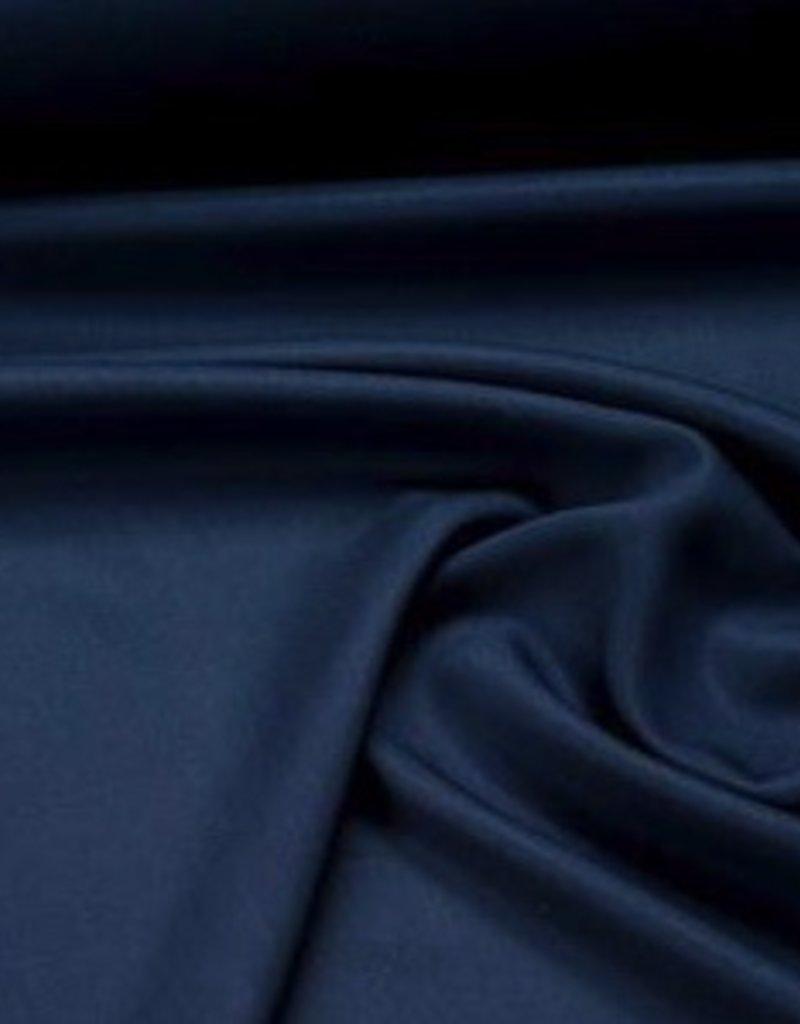 Jeansblauwe tencel
