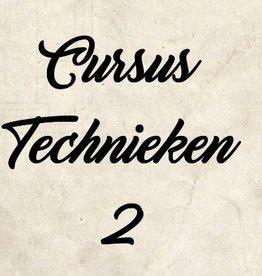 Cursus technieken 2 vanaf 18 oktober