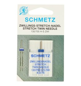 Schmetz Tweelingnaald stretch 4,0
