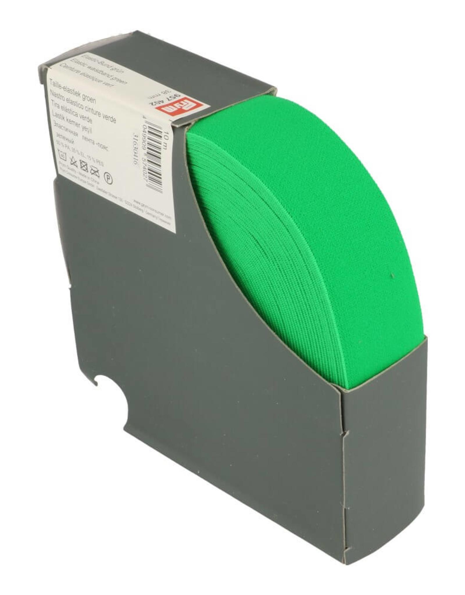 Prym Taille elastiek groen 38mm