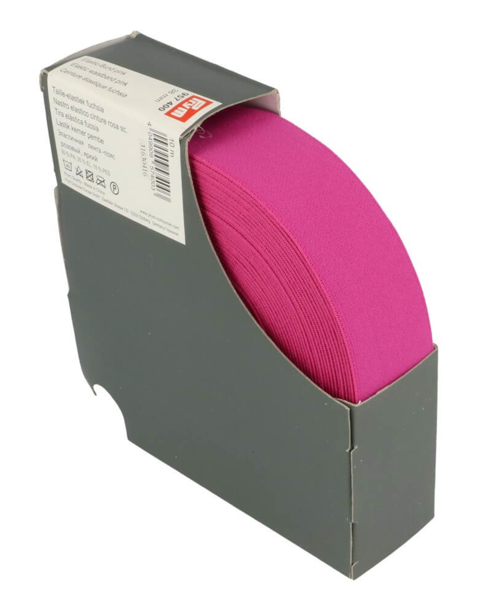 Prym Taille elastiek fuchsia 38mm