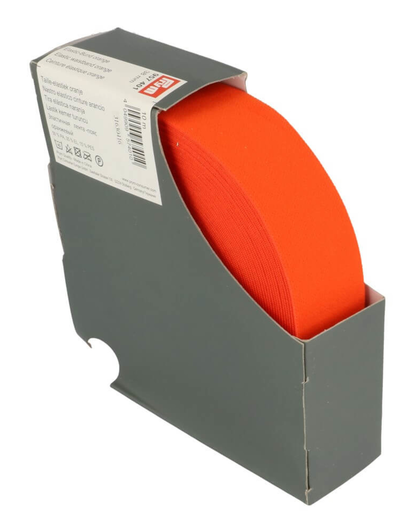 Prym Taille elastiek oranje