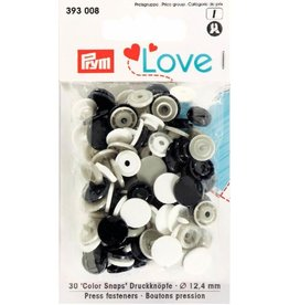 Prym Prym  Love drukknopen KST 12,4 mm marine-grijs