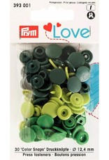 Prym Prym  Love drukknopen KST 12,4 mm groen