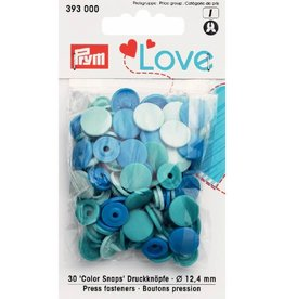 Prym Prym  Love drukknopen KST 12,4 mm blauw