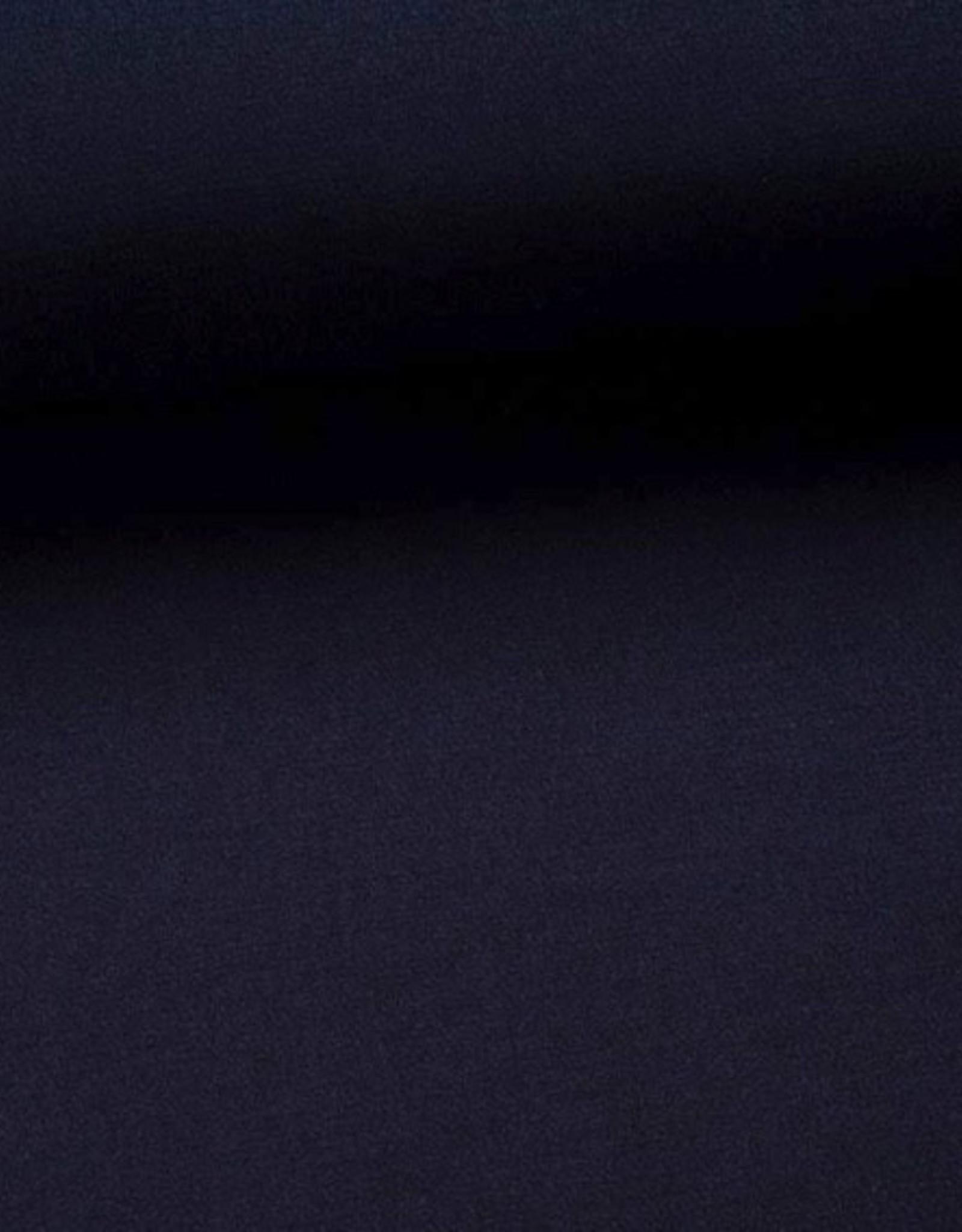 Polyesterviscose donkerblauw