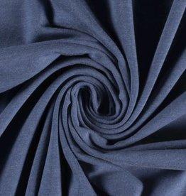 Tricot jeansblauw melange