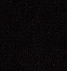 Zwart gebreid met lurex