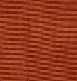 Oranje ribfluweel rekbaar